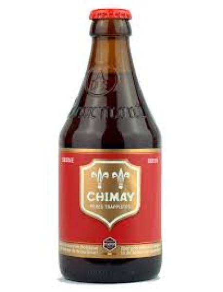 CHIMAY ROUGE - Bere aramie 7% alc. - 0.33l / bere trapista Belgia