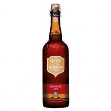 CHIMAY PREMIERE - Bere aramie 7% alc. - 0.75l / bere trapista Belgia