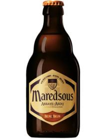 MAREDSOUS BRUNE - Bere bruna 8% alc. - 0.33l / bere de abatie Belgia