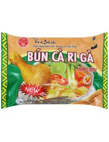 BICH CHI - Supa instant cu taietei Vermicelli de orez si aroma de pui curry - 60 g  - produs in Vietnam