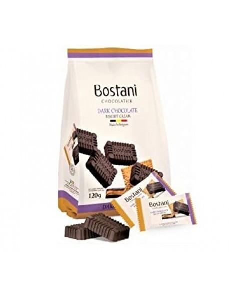 BOSTANI - ciocolata neagra si crema de biscuiti - 120g / produs in Belgia