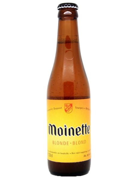 MOINETTE - Bere blonda atizanala 8.5% alc. - 0.33l / bere speciala Belgia