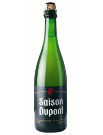 Oferta Speciala - 1 bax de 12 sticle bere artizanala  SAISON DUPONT 0,75l - Bere blonda, 6.5% alc. / bere speciala Belgia