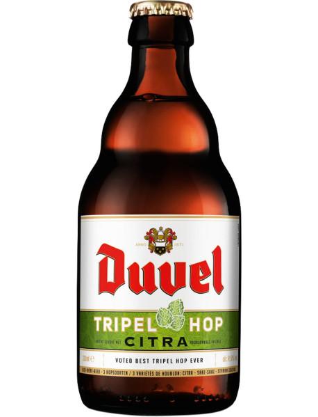 DUVEL TRIPEL HOP CITRA - Bere blonda 9.5% alc. - 0.33l / bere speciala Belgia