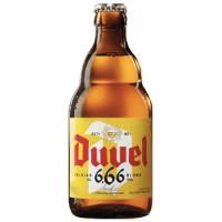 DUVEL 666 - Bere blonda 6.66% alc. - 0.33l / bere speciala Belgia