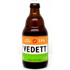 Oferta Speciala - 1 bax de 24 buc bere artizanala VEDETT IPA - Bere blonda 5,5% alc. - 0.33l - la pret special / bere speciala Belgia
