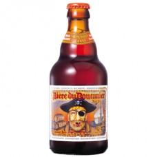 BIERE DU BOUCANIER RED - bere aramie 7% alc. - 0.33l / bere speciala Belgia