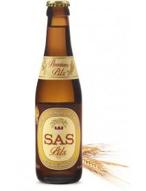 SAS PREMIUM PILS - Bere blonda, 5% alc. - 0.25l / bere speciala Belgia