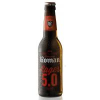 Oferta Speciala - 1 bax  de 24 buc bere ROMAN LAGER - Bere blonda 5% alc. - 0.33l / bere speciala Belgia