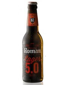 ROMAN LAGER - Bere blonda 5% alc. - 0.33l / bere speciala Belgia