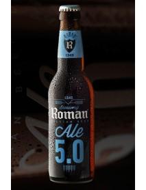 ROMAN ALE - Bere bruna 5% alc. - 0.33l / bere speciala Belgia