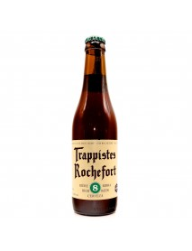 TRAPPISTES ROCHEFORT 8 - Bere bruna 9,2% alc. - 0.33l / bere trapista Belgia