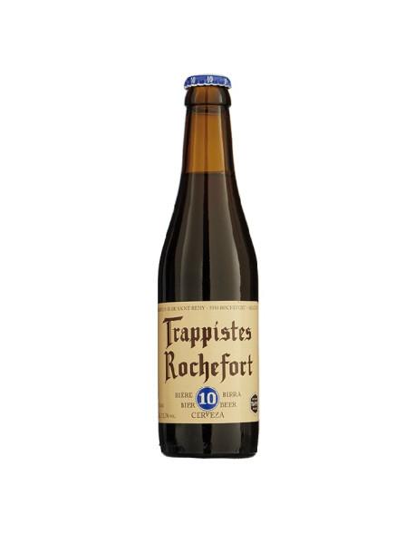 TRAPPISTES ROCHEFORT 10 - Bere bruna 11,3% alc. - 0.33l / bere trapista Belgia