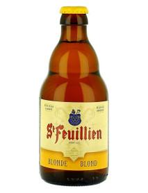 ST FEUILLIEN BLOND - Bere blonda 7.5% alc. - 0.33l / bere de abatie Belgia