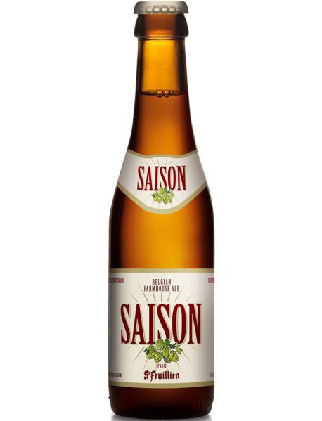 ST FEUILLIEN SAISON - Bere blonda 6.5% alc. - 0.33l / bere de abatie Belgia