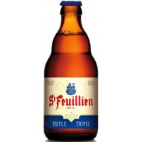 ST-FEUILLIEN TRIPLE - Bere blonda 8.5% alc. - 0.33l / bere de abatie Belgia