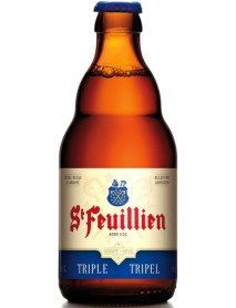 ST FEUILLIEN TRIPLE - Bere blonda 8.5% alc. - 0.33l / bere de abatie Belgia