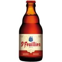 ST-FEUILLIEN BRUNE - Bere bruna 8.5% alc. - 0.33l / bere de abatie Belgia