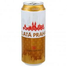 ZLATA PRAHA - Bere lager 4.7% alc. - 0.5l / bere Cehia