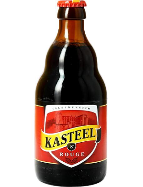 KASTEEL ROUGE - Bere aramie 8% alc. - 0.33l / bere speciala Belgia