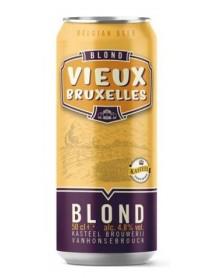 VIEUX BRUXELLES BLOND - Bere blonda 4.8% alc. - doza 0.5l / bere speciala Belgia