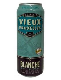 VIEUX BRUXELLES BLANCHE - Bere alba 4.8% alc. - doza 0.5l / bere speciala Belgia