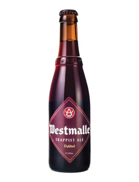 WESTMALLE DOUBLE - Bere bruna 7% alc. - 0.33l / bere trapista Belgia