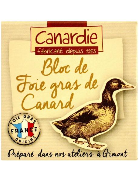Canardie - Bloc de foie gras de canard (ficat de rata) - 65g / produs in Franta