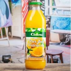 CIDOU - Suc 100% natural de portocale de Valencia - 1l / produs in Franta