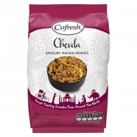 COFRESH - Snack indian HOT CHEVDA - 325g / produs in Anglia