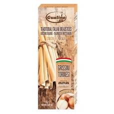 GUALINO - Grisine cu ceapa - 125g / produs in Italia