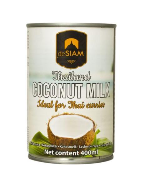 DESIAM - Lapte de cocos (86% cocos) - 0.4l / produs in Thailanda