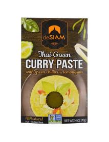 DESIAM - Pasta curry verde - 70g / produs in Thailanda