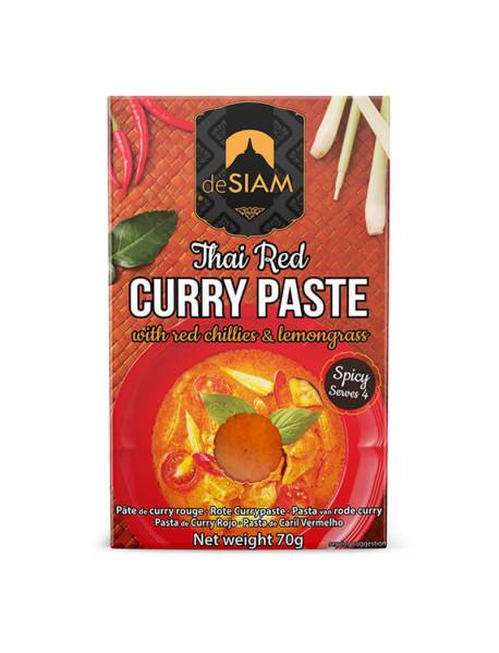 DESIAM - Pasta curry rosu - 70g / produs in Thailanda