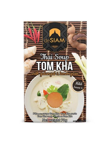 DESIAM - Pasta pentry supa TOM KHA - 70g / produs in Thailanda