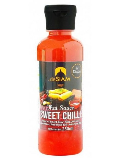DESIAM - Sweet chilli dip sauce - 250ml / produs in Thailanda