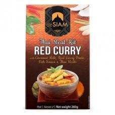 DESIAM - Kit Curry rosu - 260g / produs in Thailanda