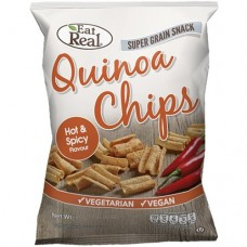 EAT REAL - Chips de Quinoa - Hot & Spicy - 30g / produs in Anglia