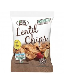 EAT REAL - Chips de linte cu ardei chilli si lamaie - 40g / produs in Anglia