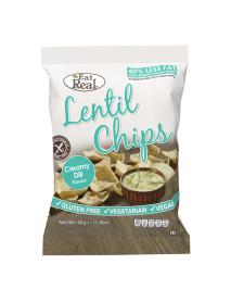 EAT REAL - Chips de linte cu crema de marar - 40g / produs in Anglia