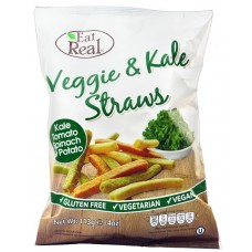EAT REAL - Sticksuri vegetale si varza Kale - 113g / produs in Anglia