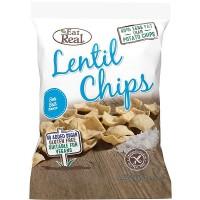EAT REAL - Chips de linte cu sare de mare - 40g / produs in Anglia