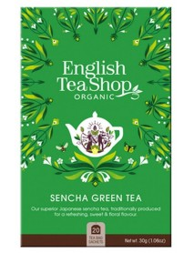 English Tea Shop - Ceai BIO - ceai verde Sencha - 30g - plicuri / produs in Sri Lanka
