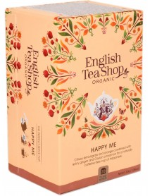 English Tea Shop - Ceai BIO - ayurvedic/wellness - Happy Me - 30g - plicuri / produs in Sri Lanka
