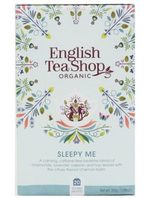 English Tea Shop - Ceai BIO - ayurvedic/wellness - Sleepy Me - 30g - plicuri / produs in Sri Lanka