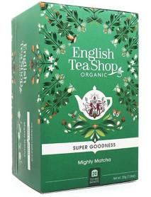 English Tea Shop - Ceai BIO - super goodness - ceai matcha intens - 35g - plicuri / produs in Sri Lanka