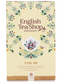 English Tea Shop - Ceai BIO - ayurvedic/wellness - Pure Me - 30g - plicuri / produs in Sri Lanka