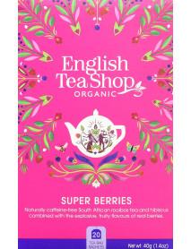 English Tea Shop - Ceai BIO - fructe de padure - 40g - plicuri / produs in Sri Lanka
