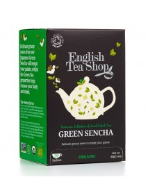 English Tea Shop - Ceai BIO Japanese Green Sencha - 40g / produs in Sri Lanka