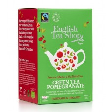 English Tea Shop - Ceai BIO Green Tea Pomegranate - 40g / produs in Sri Lanka